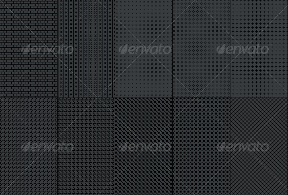 Fiber Carbon Pattern Background - Vol-5 - Textures / Fills / Patterns Photoshop