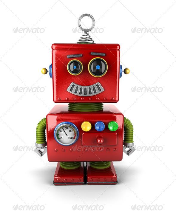 PhotoDune Little Robot 3140741