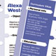 5 in 1 One Page Resume template look like Web page - GraphicRiver Item for Sale