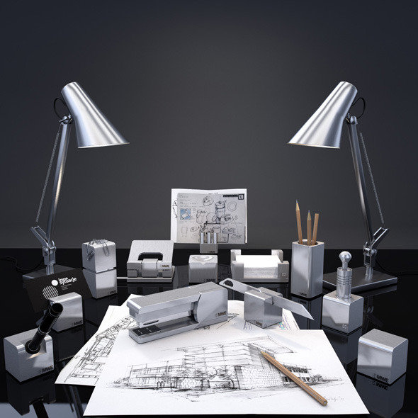 3DOcean MWE writing desk series Siena 3139988