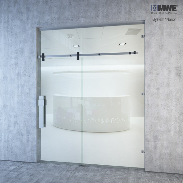 MWE Nano Sliding door system - 3DOcean Item for Sale