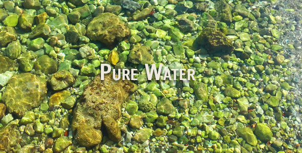 VideoHive Pure Water 3140622