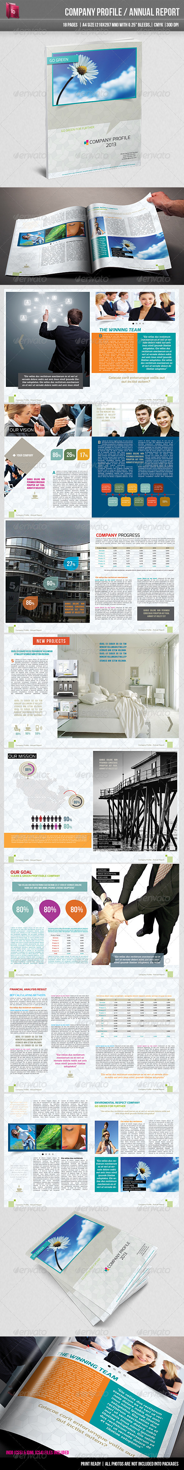 GraphicRiver Modern Company Profile Annual Report 3116307
