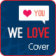 FB Cover - We Love - GraphicRiver Item for Sale