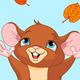 Happy fall mouse - GraphicRiver Item for Sale