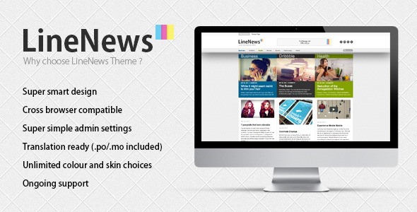 LineNews Wordpress Theme