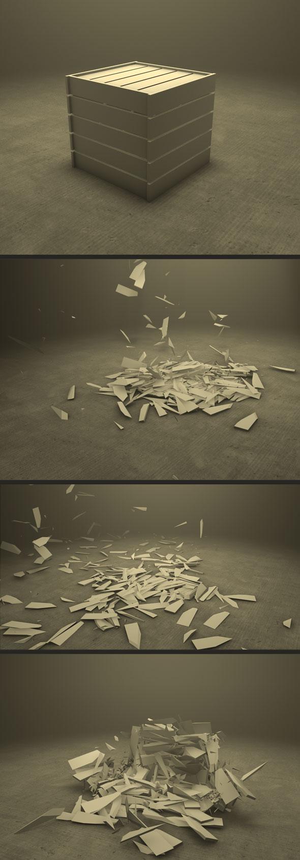 Fragile Box - 3DOcean Item for Sale