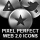 25 Pixel Perfect Multimedia Icons - GraphicRiver Item for Sale