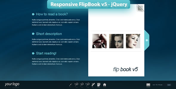 CodeCanyon Responsive FlipBook v5 jQuery 3146425