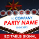 Editable Sign - GraphicRiver Item for Sale