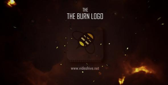 VideoHive The Burn Logo 3137162