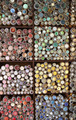 Display Of Colorful Buttons On Market Stall - PhotoDune Item for Sale