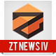 Responsive joomla template ZT News 4  Free Download