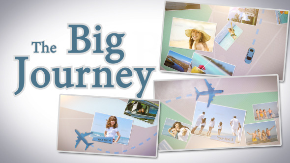 VideoHive The Big Journey 3149754