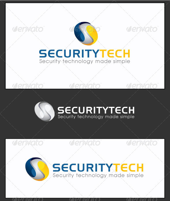 GraphicRiver Edit Security Tech Logo Template 3149888