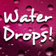 Water Drops Backgrounds - GraphicRiver Item for Sale