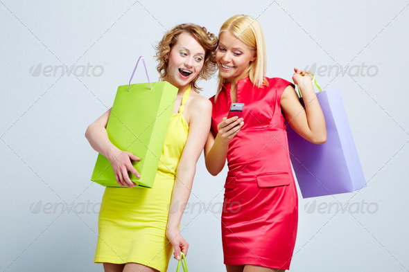 Joyful girls - Stock Photo - Images