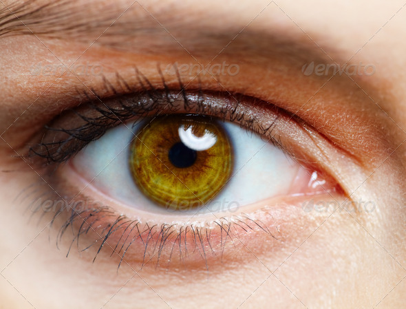 Human eye - Stock Photo - Images