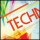 Techno Flyer Template - GraphicRiver Item for Sale