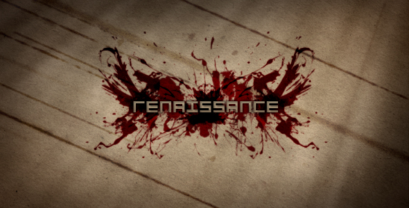 After Effects Project - VideoHive Renaissance 111382