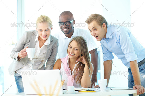 Amazing information - Stock Photo - Images