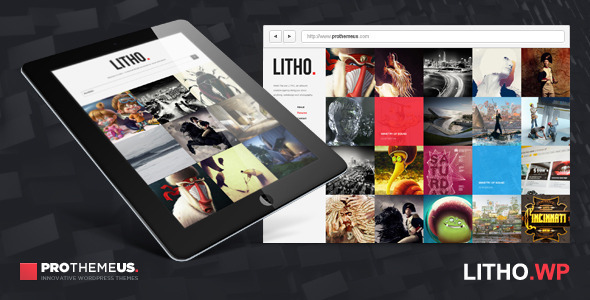 ThemeForest Litho WordPress Theme for Visual Enthusiasts 3140373