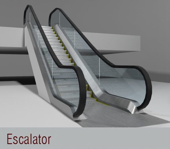 3DOcean Escalator 111429