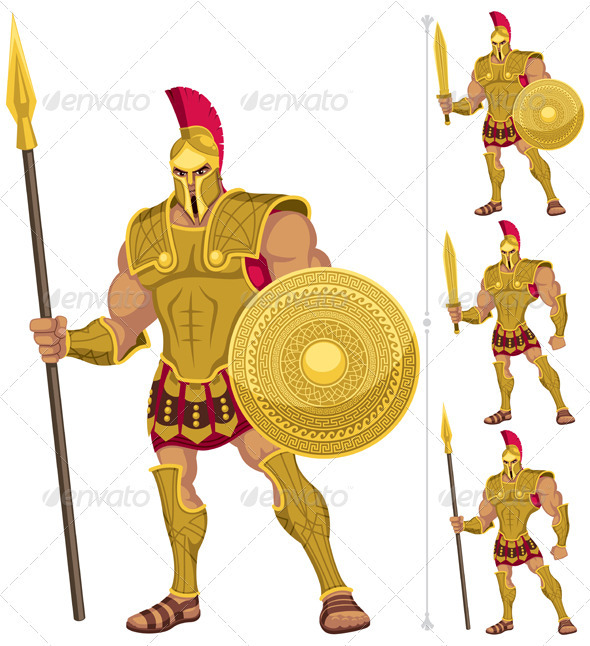 Greek Hero - People Characters