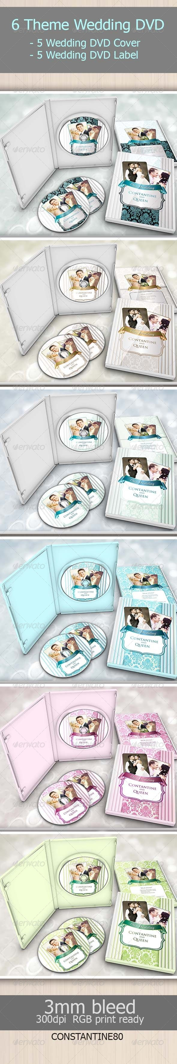 6 Theme Wedding Dvd