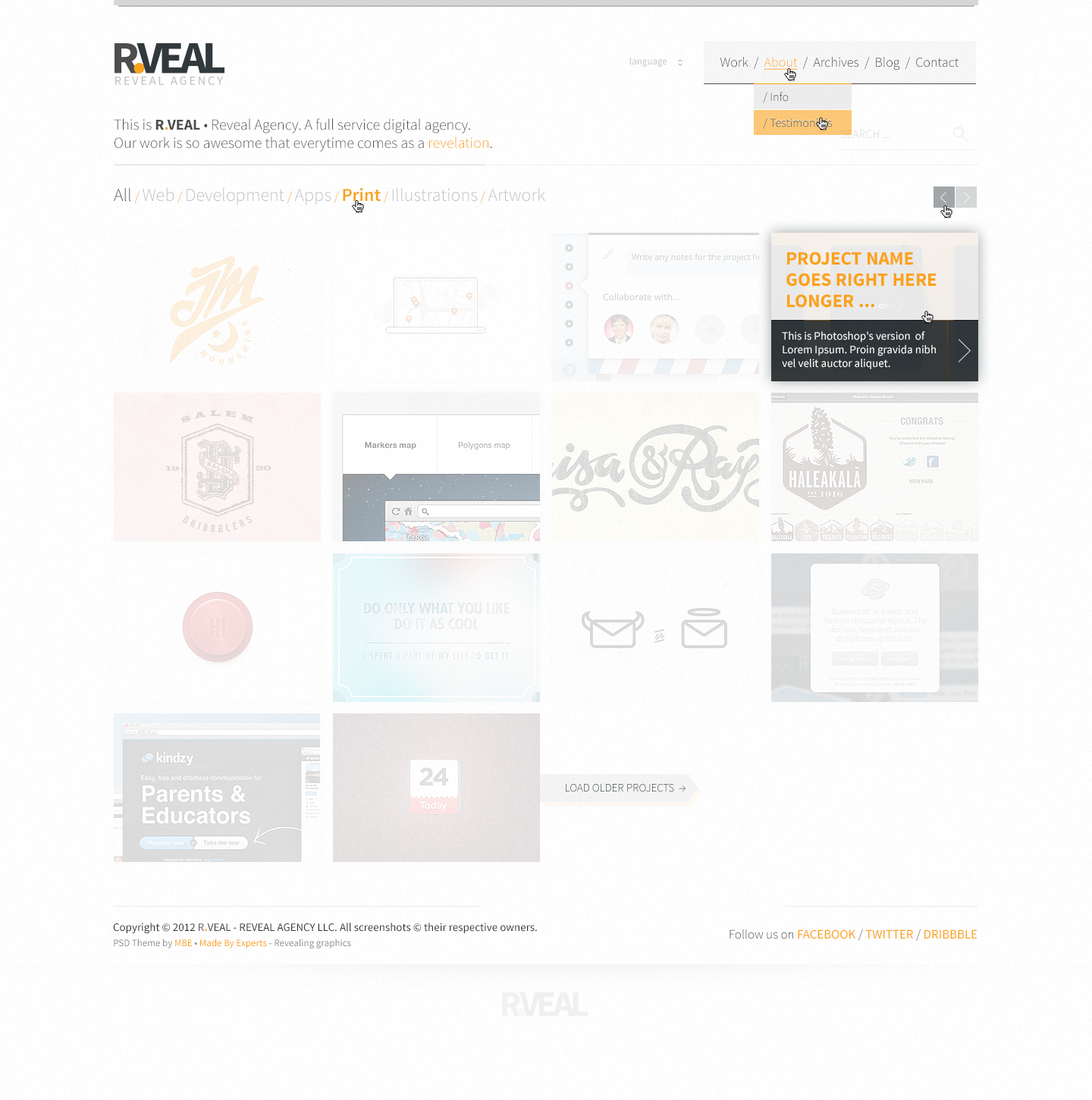 R.Veal Theme