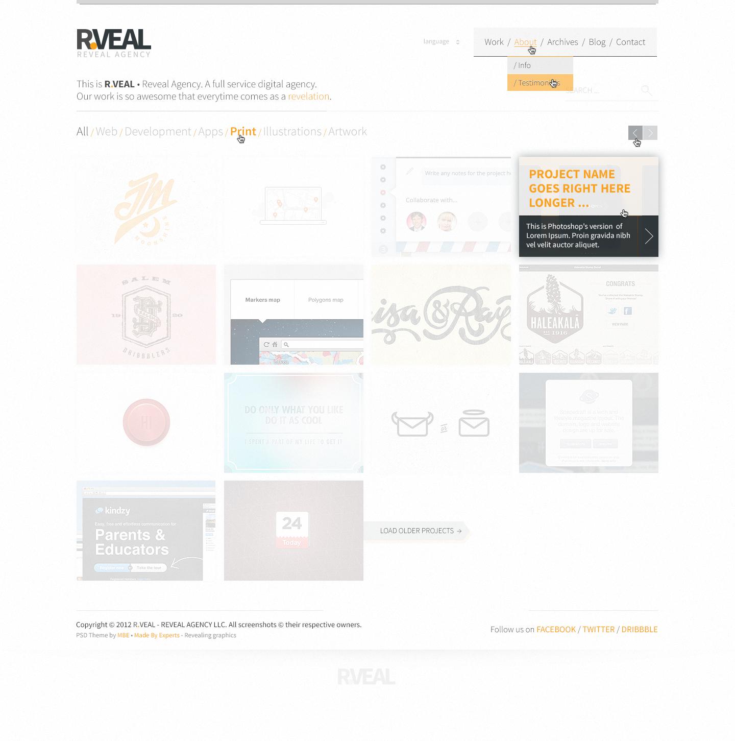 R.Veal Theme