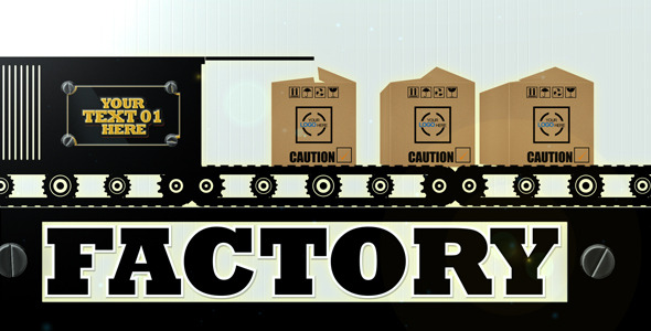 VideoHive Conveyor Belt 3154338