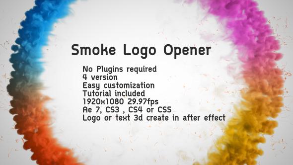 VideoHive Smoke Logo Opener 3154399