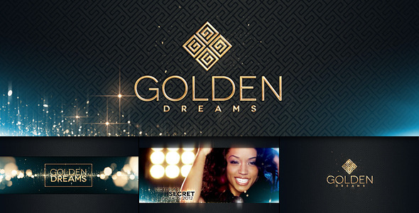VideoHive Fashion 3 Golden Dreams 3155276