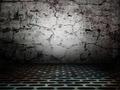Urban stage grunge wall metal floor spotlights - PhotoDune Item for Sale
