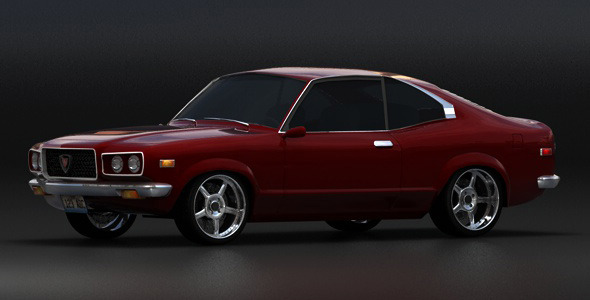 Mazda Savanna GT RX-3 (1975) - 3DOcean Item for Sale