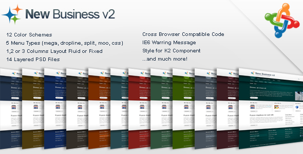 New Business v2 - Business Joomla Template