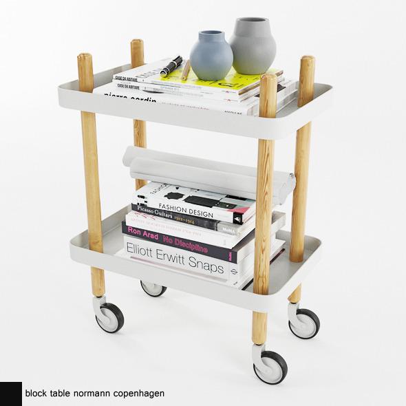 block table normann copenhagen - 3DOcean Item for Sale