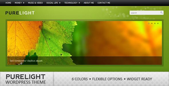 ThemeForest Purelight Wordpress Theme 111514