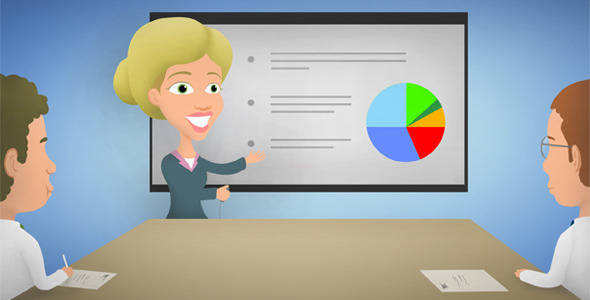 royale business presentation images animation