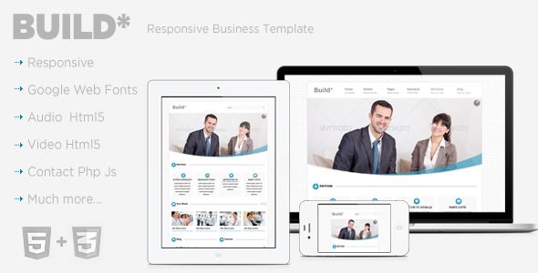 Build Responsive Business Template