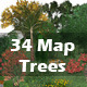 Plants Trees Flowers Grass Collection for Maps - GraphicRiver Item for Sale