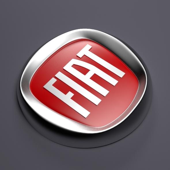 3DOcean Fiat Logo 3158139