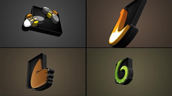 VideoHive Advance 3D Extrudes 2D Into 3D Logo 3158391