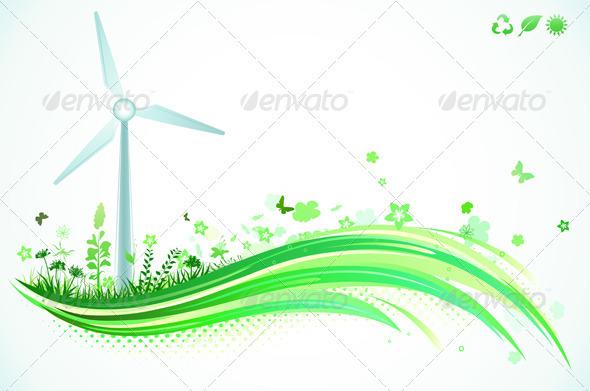Ecology Concept - Conceptual Vectors