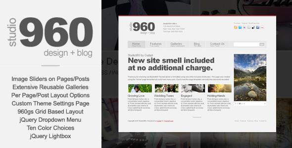 Studio960 WordPress by Cudazi