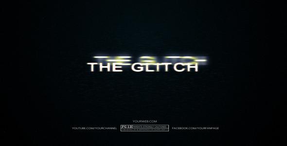 VideoHive The Glitch 3159486