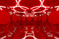 Abstract red sphere wall - PhotoDune Item for Sale