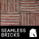 Hi-Res Seamless Red Brick Floor - GraphicRiver Item for Sale