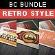 Creative Retro Business Card Bundle - GraphicRiver Item for Sale